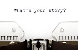 whats-your-story-on-typewriter
